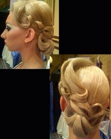 Best Ballroom Hair Images On Pinterest Dance Hairstyles - Dancer prince hairstyle