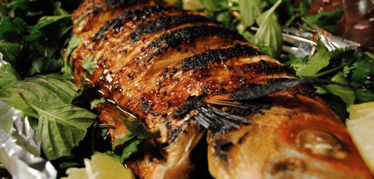 Запеченная рыба в духовке под нежнейшим соусом