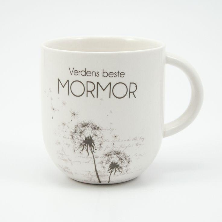 Kaffekopp til verdens beste mormor fra lea.no