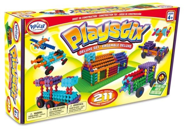 Playstix Deluxe Construction Set All my kids would love to build with these, they look so fun! #EntropyWishList #PinToWin