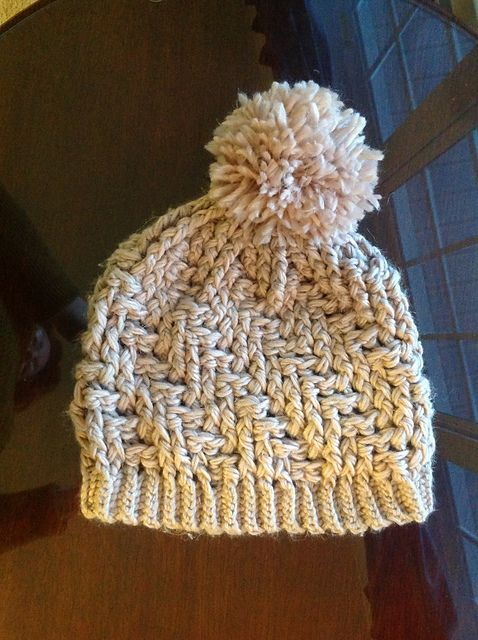 Ravelry: Project Gallery for Stepping Texture Hat pattern by Bernat Design…