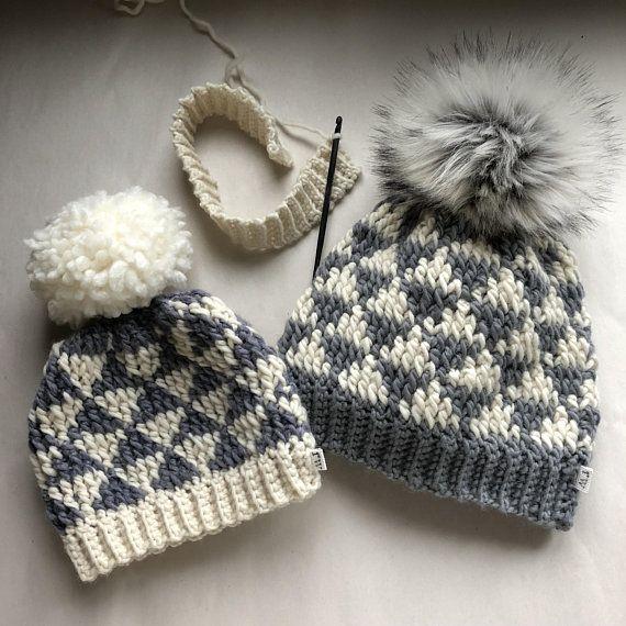 CROCHET PATTERN, The Evie Crochet Beanie Pattern, Crochet Hat ...