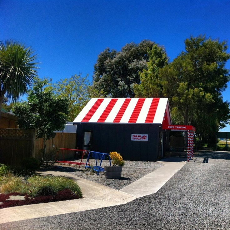 The Fudge Factory at The Vines Village gets a makeover!   Rapaura Road, Marlborough, New Zealand