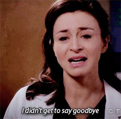 "But on the May 14 season finale, ""You're My Home,"" Meredith gave her sister-in-law Amelia (Caterina Scorsone) the last voicemail she received from her late husband/Amelia's late brother. And both Amelia and fans finally got some much-needed closure. 