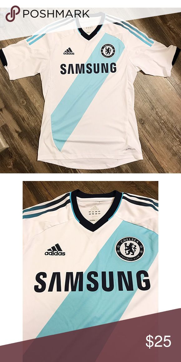 Chelsea Football Club Soccer Jersey Chelsea soccer jersey that I originally bought in London. Very good condition. Tops Tees - Short Sleeve
