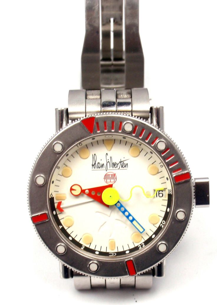 ALAIN SILBERSTEIN MARINE GMT AUTOMATIC WATCH LIMITED EDITION - http://menswomenswatches.com/alain-silberstein-marine-gmt-automatic-watch-limited-edition/ COMMENT.