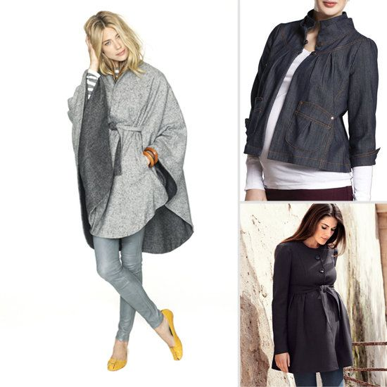 Fall is right round the corner, which means brisk winds and cooler temperatures. Keep your bump warm with a lightweight maternity jacket that is both chic and cozy. Go with a formfitting belted coat that shows your curves, or drape and wrap with soft