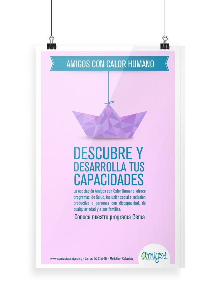 Afiche: campaña social
