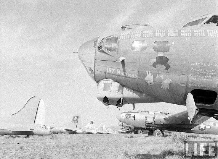 B-17's at Kingman, Arizona