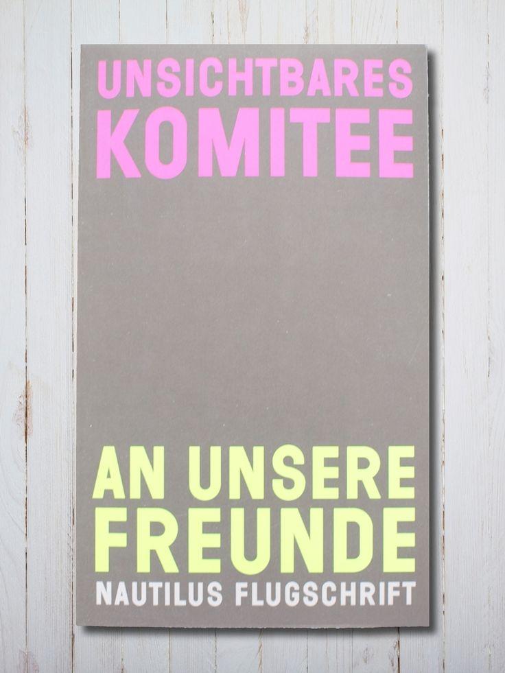 UNSICHTBARES KOMITEE - NAUTILUS FLUGSCHRIFT