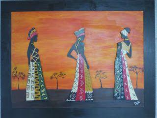 CREACIONES DE SILVIA: NEGRITAS, AFRICANAS y NEGRITOS!!!! Por todos lados...
