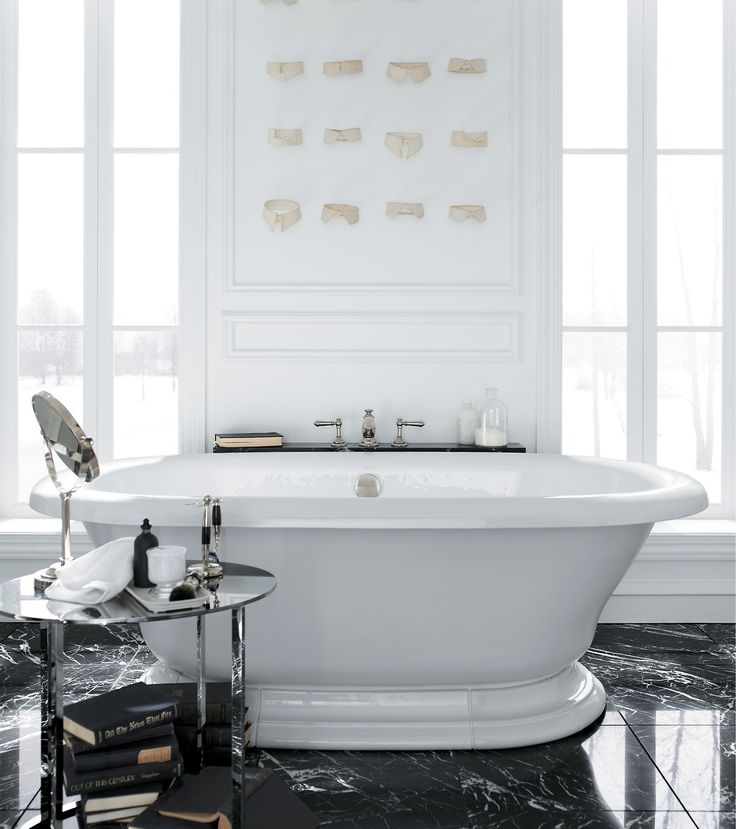 freestanding tub with deck mount faucet. Vintage freestanding bath Artifacts deck mount faucet The perfect is  like a tuxedo Chosen with care and guaranteed to make you feel million 23 best Freestanding Baths images on Pinterest