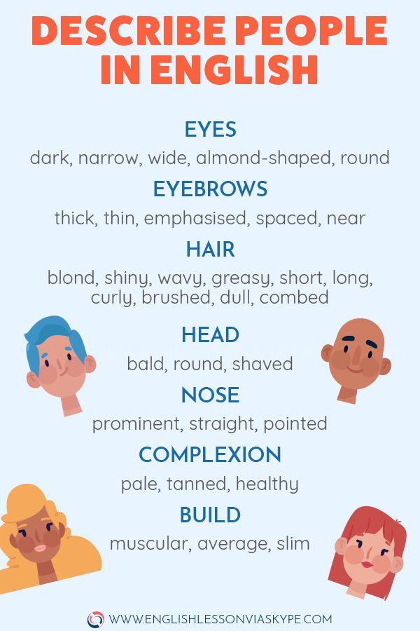 Describe Folks's Look in English