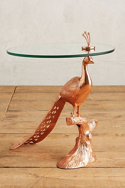 Pavo Side Table #anthropologie