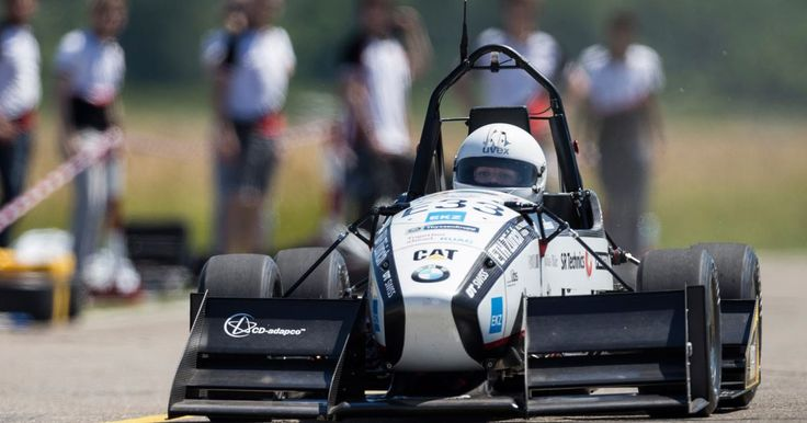 Electric race car sets an acceleration world record