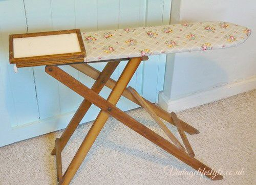 Antique Wooden Folding Ironing Board Best 2000 Antique