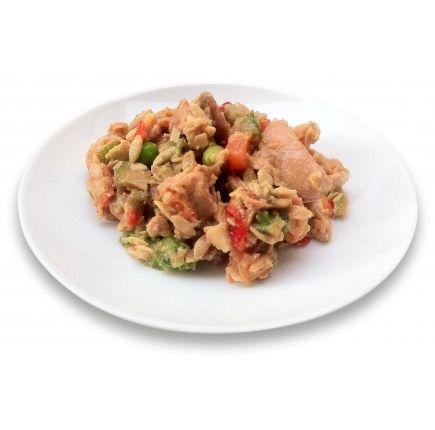 Salade Poulet Linéadiet (minceurmoinscher.com) Salade César hyperprotéinée prête à l'emploi  Redécouvrez un classique avec cette salade César hyperprotéinée prête à être dégustée, à base de savoureux émincés de poulet, de légumes et de champignons. Idéale pour un repas minceur gourmand et rapide à préparer, cette salade s'intégrera parfaitement à votre régime et pourra vous accompagner partout, y compris pour un déjeuner à l'extérieur.