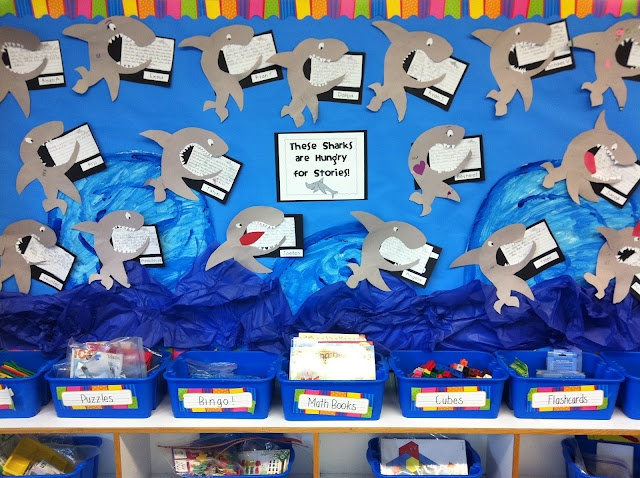Shark writing Snail and the whale, Study fun, Ocean themes
