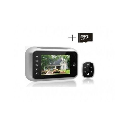 Front Door Camera Digital Peephole Viewer Night Vision Record Video Photos LCD #Harbor