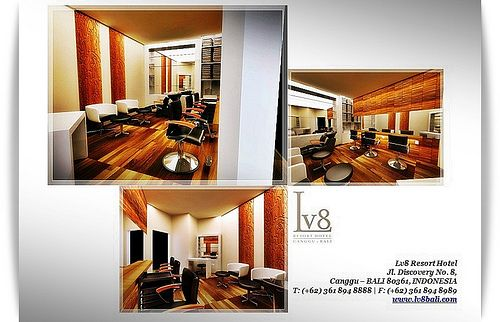 Beauty Salon at Lv8 Resort Bali