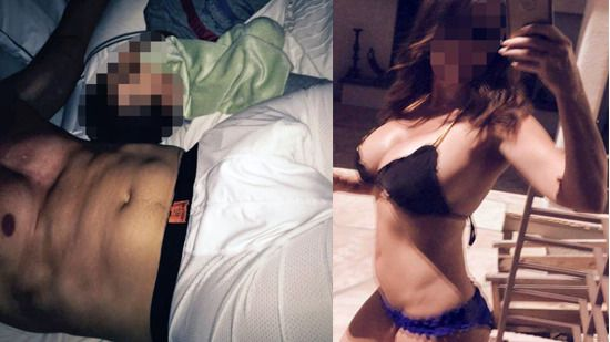 Vile Anthony Weiner Sexts Dick Pics Again With Hottie While In Bed Next To Kid