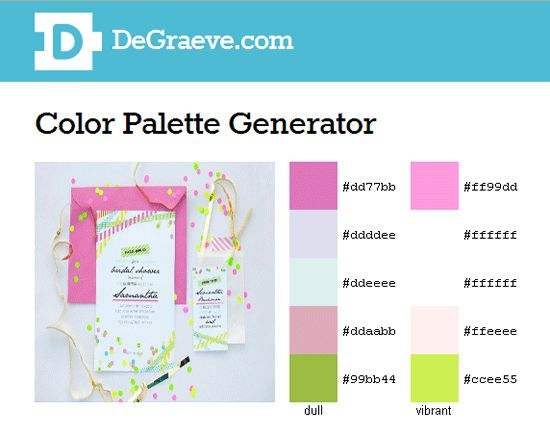 color palette generator design color spectrum