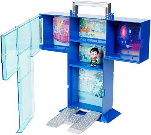 Teen Titans Go! Tower Mini Figure Display Case with Mini ... https://www.amazon.com/dp/B01J6HPVTM/ref=cm_sw_r_pi_dp_x_GdiNyb1XMTXEM