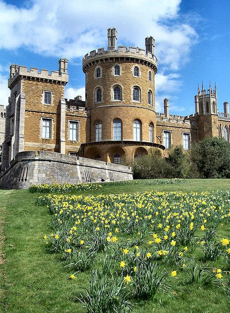 Belvoir Castle, Leicestershire, England. I visited this beautiful castle. What a fascinating place!