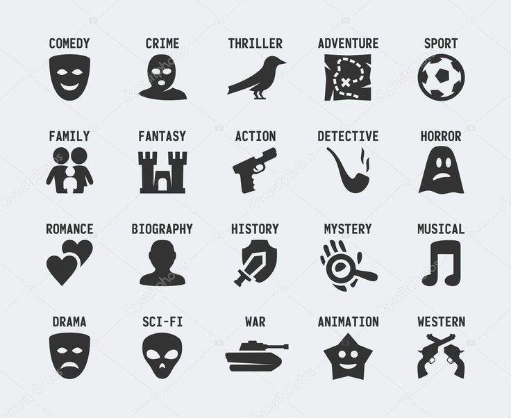En el cine, pueden diferenciarse diferentes tipos de géneros