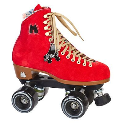 Riedell Moxi Lolly Poppy Womens Outdoor Roller Skates 2015,