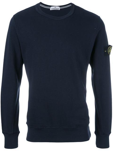 STONE ISLAND crew-neck sweatshirt. #stoneisland #cloth #sweatshirt