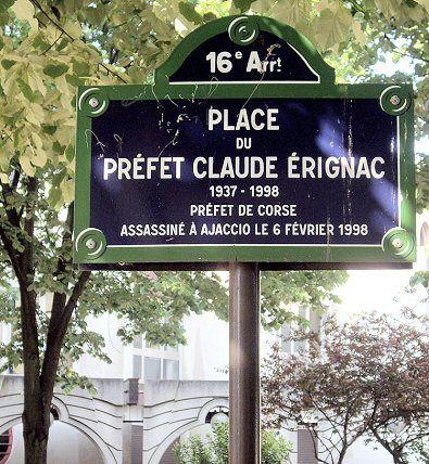La place du Préfet-Claude-Erignac   (Paris 16ème)