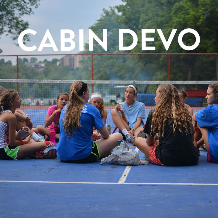 Cabin devotionals help us grow closer to the Lord.