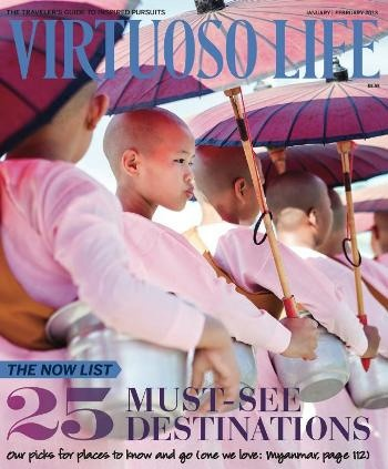 January/February 2013 - 25 Must See Destinations.    Read the entire edition online by clicking the cover photo and if you're like to receive this award winning publication in hard copy, contact me about becoming a VIP client today and you'll receive a complimentary lifetime subscription (conditions apply)