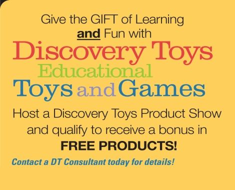 I help parents educate their children through play. Want toys that you will enjoy playing with as much as your children? Want them FREE? Visit my website to learn how. www.terrysbiz.com