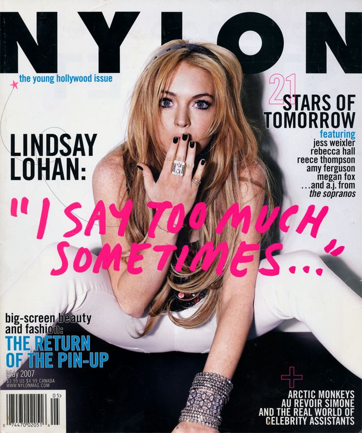 #tbt lindsay lohan's may 2007 cover