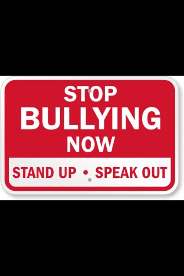 Take a Stand Against Bullying (Not Just Actions But Words)