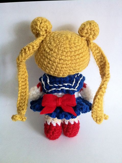 Ravelry: Sailor Moon pattern by Jennifer Vasseur... Pin now, click link later for pattern!!!!