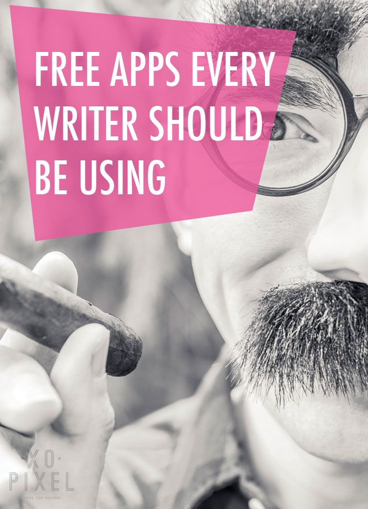 free-apps every writer should be using - I never knew about these