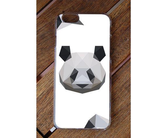 Lovely Phone Case Polygon Panda Print- iPhone - Samsung - LG - Alcatel - Motorola - HTC - HUAWEI - Nokia