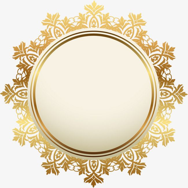 e7aba06956c Download this transparent golden atmosphere badge, Golden Badge,  Atmospheric Sign, Medal Pattern PNG image and clipart for free.