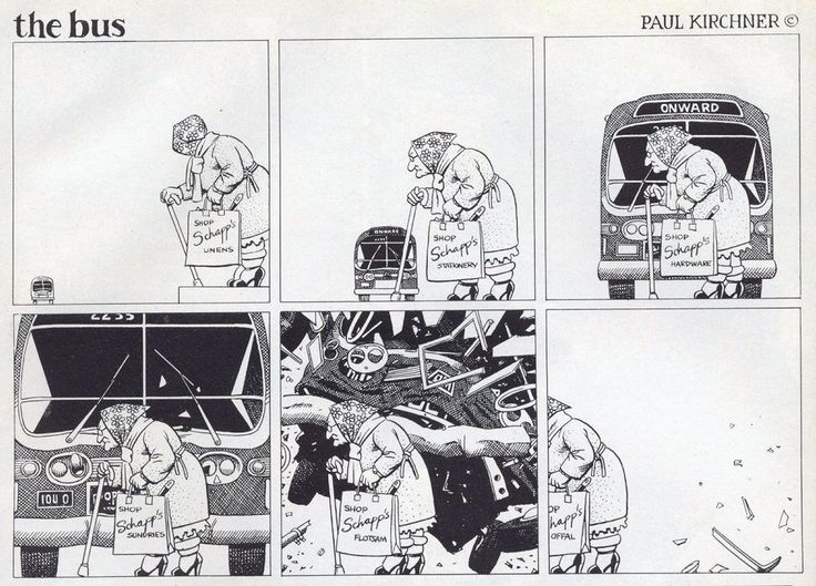 The bus by Paul Kirchner