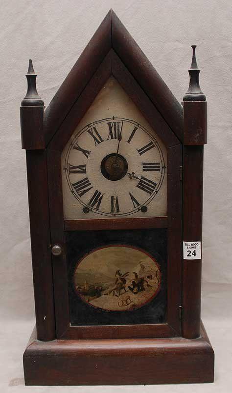 Antique Wood Clocks