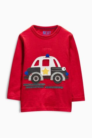 Buy Police Car Light-Up T-Shirt (3mths-6yrs) online today at Next: Israel