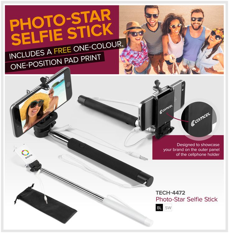 Photo-Star Selfie Stick – Bell Jar Pty Ltd