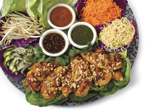 Top Secret Recipes | Cheesecake Factory Thai Lettuce Wraps Copycat Recipe