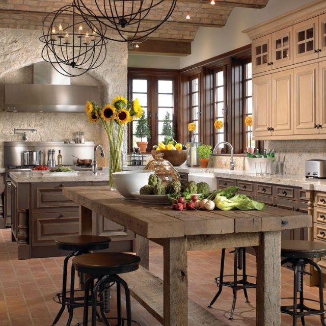 houzz kitchens via jim stearman - Houzz Kitchen Lighting Ideas