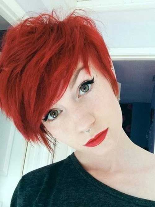 Really Stylish 10 Red Pixie Cut for Ladies | http://www.short-haircut.com/really-stylish-10-red-pixie-cut-for-ladies.html
