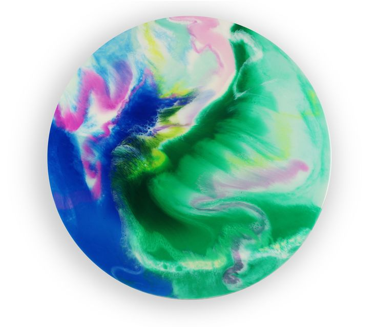 80cm circle resin artwork Abstract art Resin art
