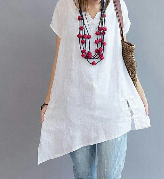 White // beads // wooden jewelry // beaded jewelry // women's fashion